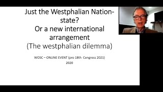 2.6. The Westphalian Paradox - Global Governance and Sustainability German Bula