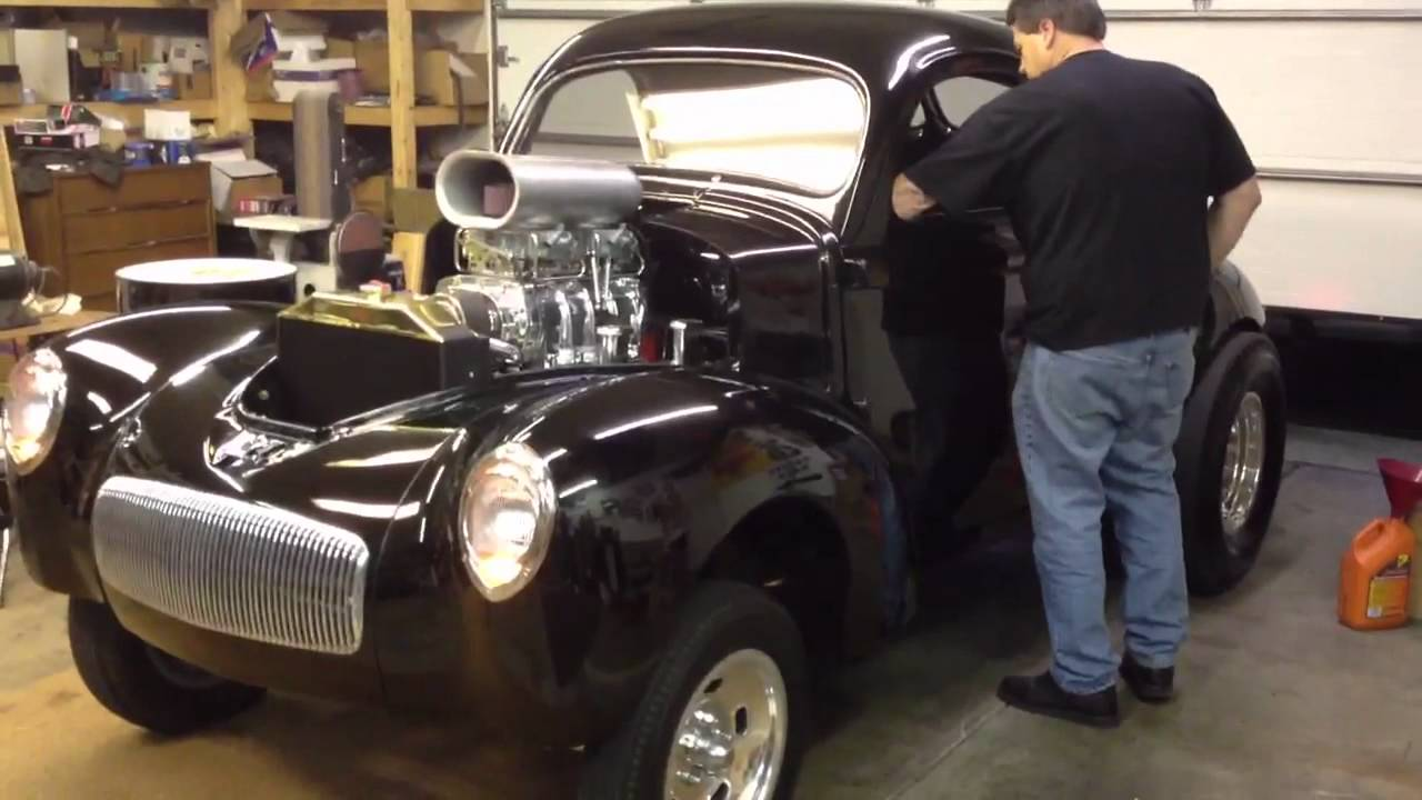 Mr. Gassers 1941 Willys - YouTube