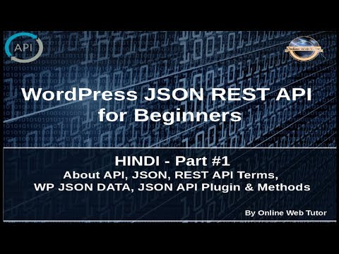 Wordpress JSON REST API Tutorial for...