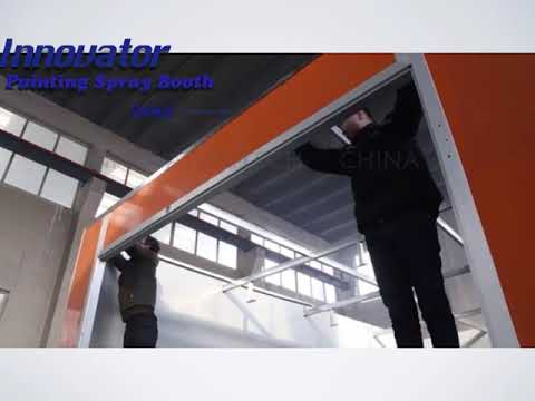 How to install the spray booth?