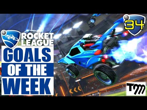 Rocket League - TOP 10 GOALS OF THE WEEK #34 (Rocket League Best Goals) thumbnail