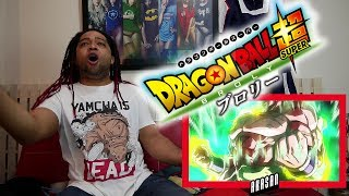 Dragon Ball Super: Broly Trailer #3 - (English Sub) REACTION & Super Aka Son Goku Story!!
