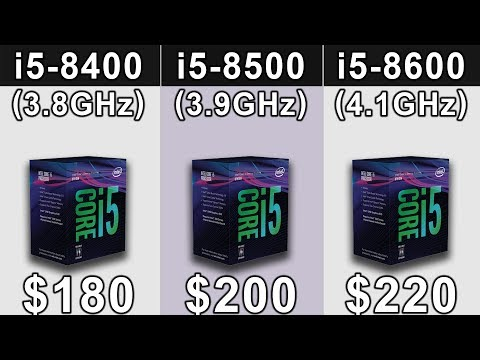 I5-8400 Vs I5-8500 Vs I5-8600 | Which Is A Better Value For Money...???
