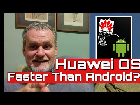 Huawei OS Faster Than Android Oh Boy.....