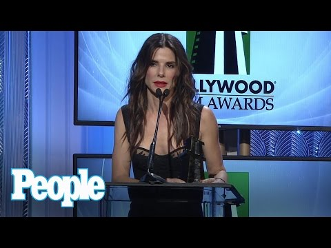 Sandra Bullock Honored as Hollywood Actress Travel Video