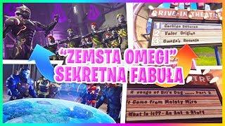 """""""ZEMSTA OMEGI"""" SEKRETNA FABUŁA SEZONU 4! NOWA TEORIA I WYCIEKI - Fortnite Battle Royale"""