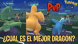 ¿CUAL ES EL REY DE LOS DRAGONES? ANÁLISIS & COMPARATIVA PvP - Pokemon Go