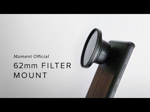 Moment 62mm Filter Mount
