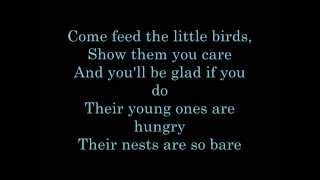 Feed The Birds Lyrics (Walt Disney