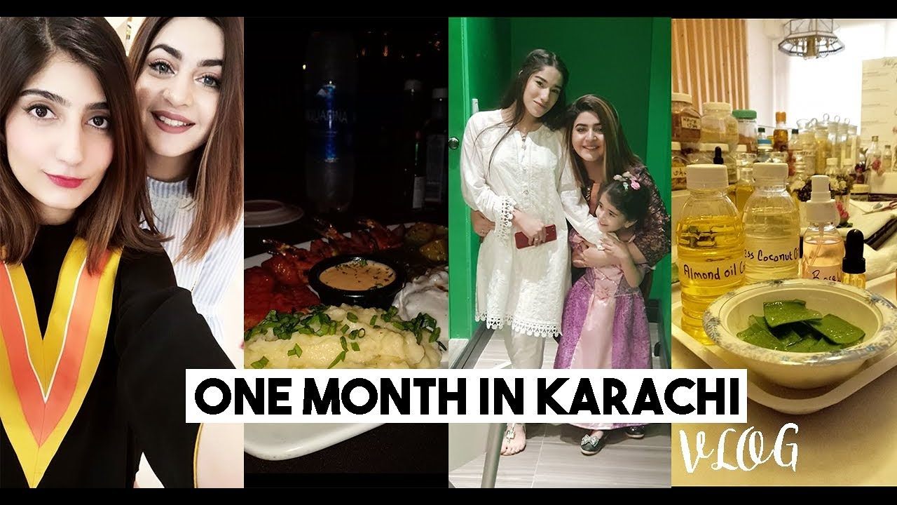 VLOGGER LIFE IN KARACHI - Food, Shopping, Games, Events & Dhabba Chillings | GLOSSIPS