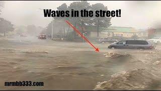100 year flood in Flagstaff AZ - Eerie Tsunami Spain - *Florida Flood Improving*