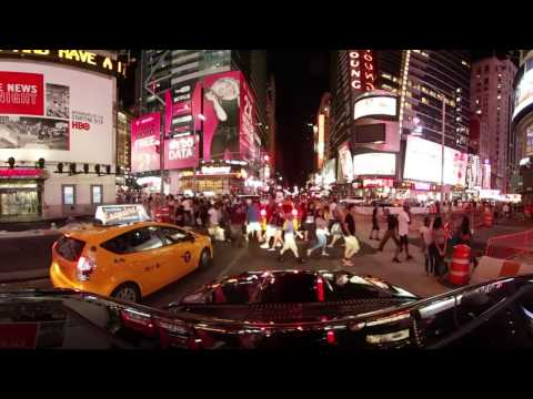 NYC, Times Square, Rockefeller Center, NBC, Tonight Show, Radio City Music Hall. All in 360 4K.