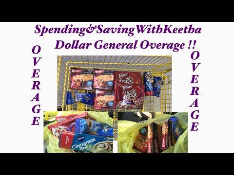 OVERAGE OVERAGE OVERAGE AT Dollar General!!
