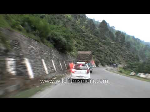Driving from Banihal to Ramban in Kashmir - Part 5