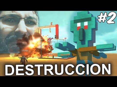 BESTIA NEGRA EL DESTRUCTOR DE JUEGOS!  Scrap Mechanic en Español - GOTH
