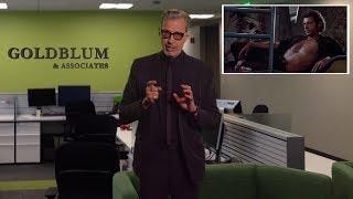 A message from Jeff Goldblum...   JURASSIC WORLD Don