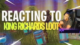 Reacting to KingRichardsLoot