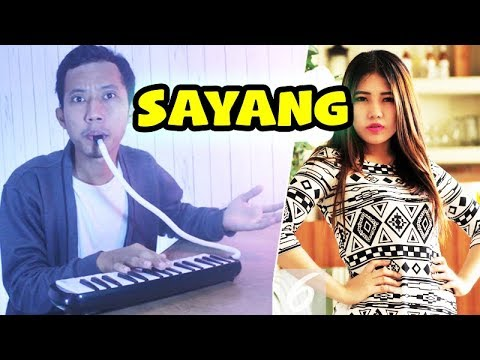 Via Vallen - Sayang ( Pianika Cover & Koplo ) Om Wawes / NDX 亲爱的 - 印尼音乐 - 口风琴