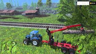 Как быстро заработать денег вырубкой леса в Farming Simulator 2015