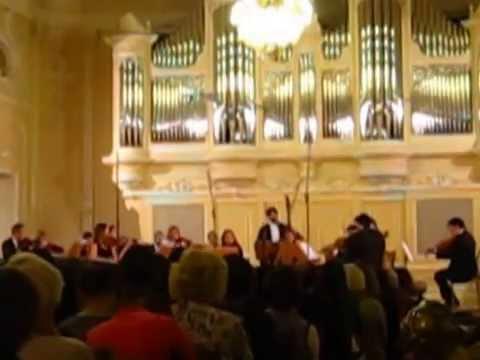 Turkish Chamber Orchestra Camerata Saygun in Saint-Petersburg State Conservatory