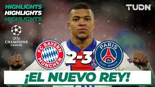 Watch Online Highlights Bayern 23 PSG Champions League 2021 Cuartos Final Ida TUDN
