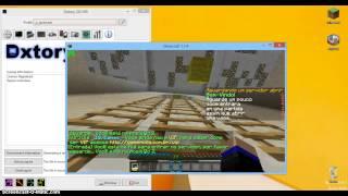 Como Gravar sua tela de Minecraft sem Travar - Tutorial Dxtory