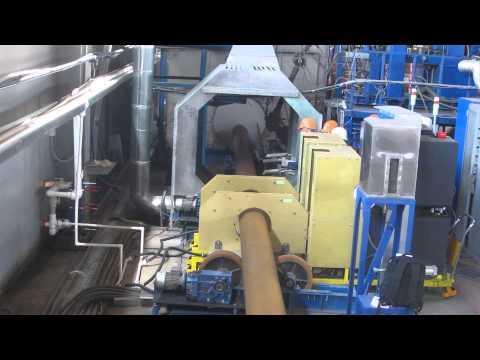 Индукционный нагрев труб перед нанесением изоляции