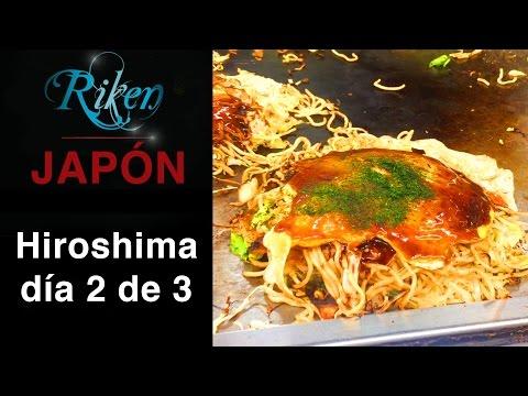 Hiroshima día 2 de 3 Okonomiyaki, bovedas de banco y cementerios japoneses