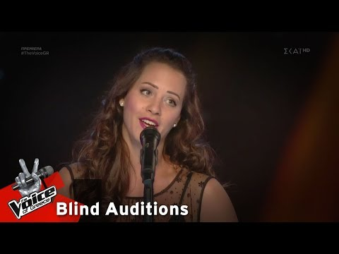 Χριστίνα Τασιούκα - O mio babbino caro | 1o Blind Audition | The Voice of Greece