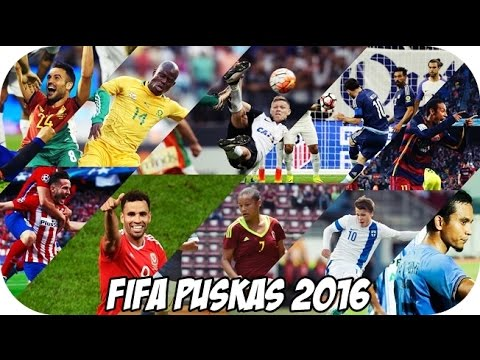 0580ea2199 PRÊMIO PUSKAS 2016 • OS 10 FINALISTAS • 21 11 16 - YouTube