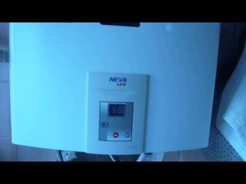 Газовая колонка NEVA - 4510 - YouTube