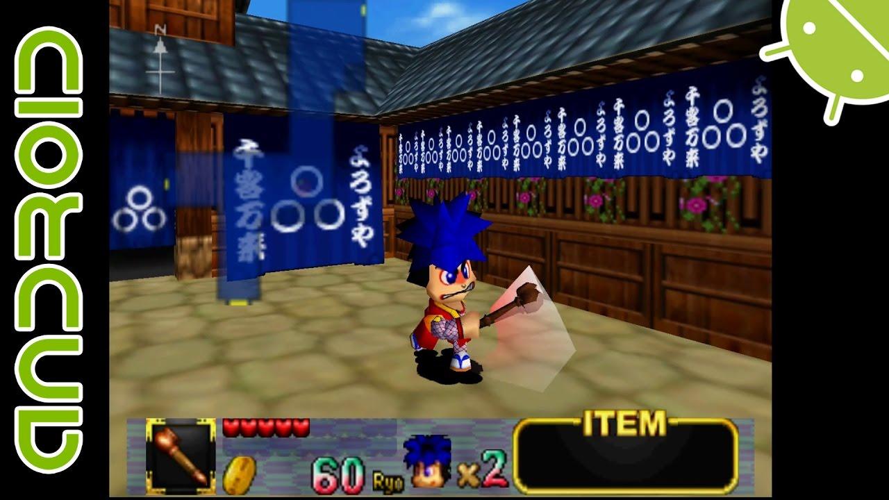 Mystical Ninja Starring Goemon | NVIDIA SHIELD Android TV Mupen64Plus FZ  Emulator 1080p Nintendo 64