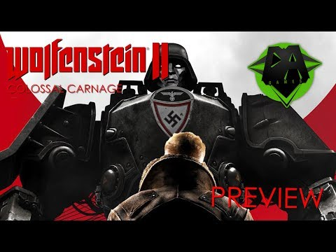 WOLFENSTEIN 2 SONG (COLOSSAL CARNAGE) PREVIEW - DAGames