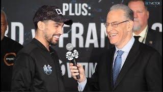 FINAL WORDS! Danny Garcia taunts Ivan Redkach before title eliminator bout l Showtime Boxing
