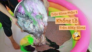 Phần 1 II Trộn Hết Tất Cả Slime Của Bắp Ra Kết Quả Cực Khủng II Trên 40 Kg Slime II Trộn Slime #16