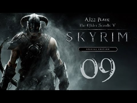 AJ Plays: Skyrim Special Edition - Werewolves and Warriors and Wizards, Oh My | Episode Nine