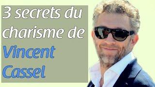 3 secrets du charisme de Vincent Cassel