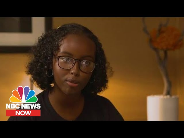 Representative Ilhan Omar's Daughter Takes On Climate Change | NBC News Now