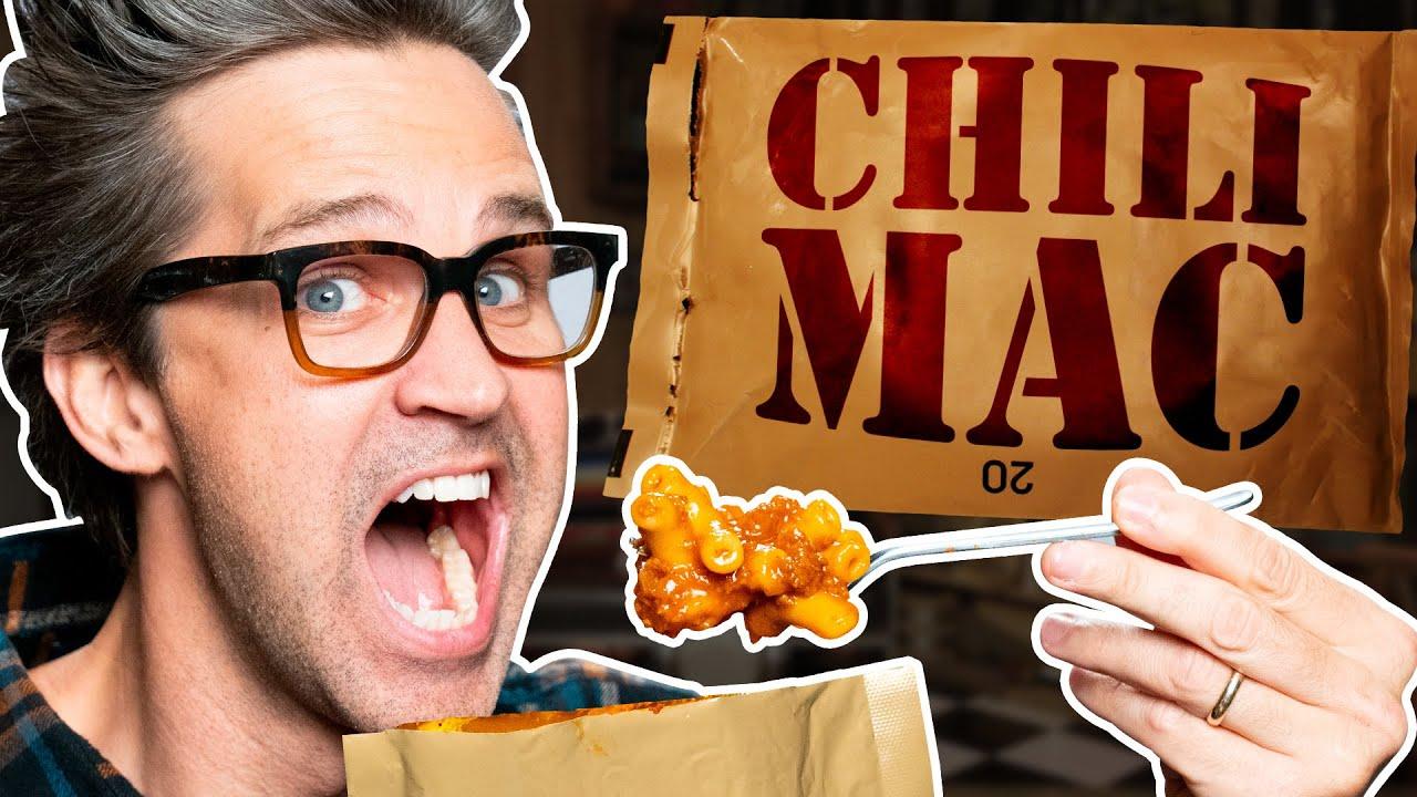 Download What's The Best MRE? Taste Test