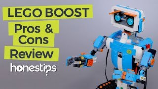 Pros and Cons Review of LEGO BOOST Creative Toolbox 17101