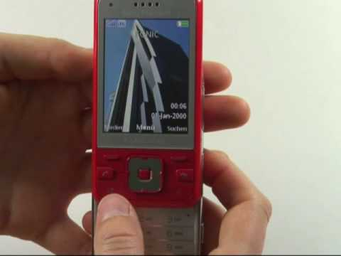 Sony-Ericsson C903 Test Bedienung