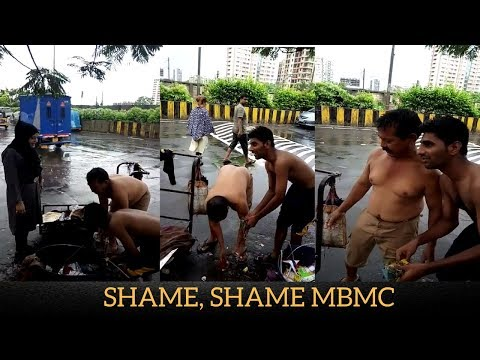SHAME, SHAME MBMC: Cleaning Staff are not provided Raincoats | Mira Bhayandar News |