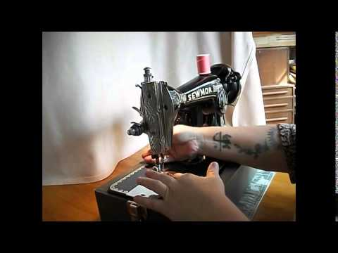Japanese-made Sewmor Sewing Machine Demo Video