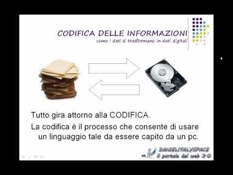 #1 - codifica delle informazioni