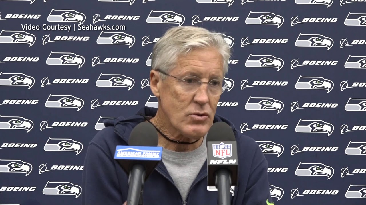 Pete Carroll on Pass Rush 2019-10-07