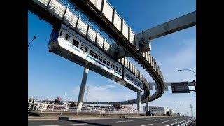 "Baixar LIVE: New suspension railway undergoes tests in Chengdu, China 成都悬挂式列车""空中轨道""测试"