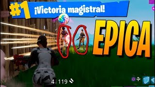 Mi PARTIDA MÁS ÉPICA de FORTNITE: Battle Royale
