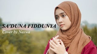 Download Mp3 Sa'duna Fiddunya   Cover By Naswa