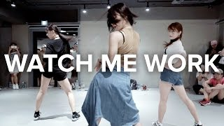 May J Lee teaches choreography to Watch Me Work by Tinashe. Learn f...
