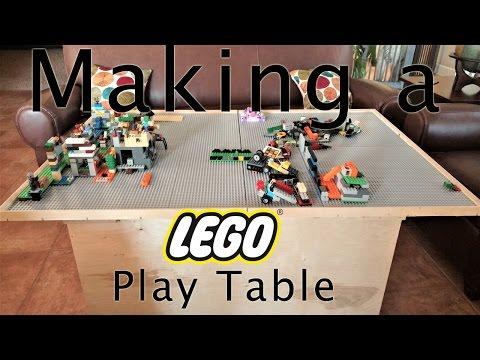 How I Made A Lego Play Table